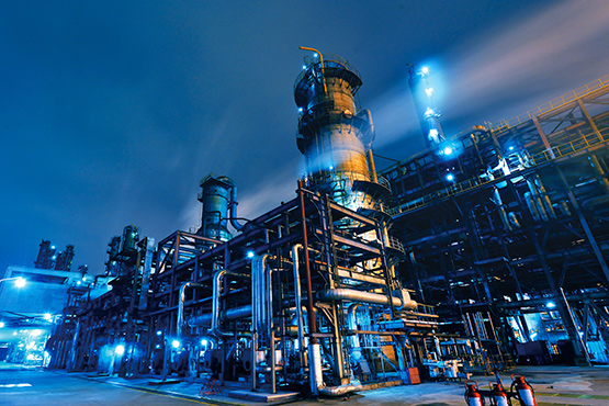 Stock Image Oil Refinery